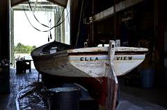 Ella View (pjpink) Tags: boat restoration beaufort northcarolina nc carolina crystalcoast may 2018 spring pjpink 2catswithcameras ellaview