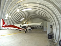SteelMaster Airplane Hangar