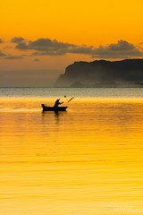 Catch the Dawn (BlindSides) Tags: select morning fisherman net cast golden ocean sea bay