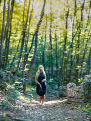 Ori And The Blind Forest (Light Of Nibel) (mikhailkorzhalov) Tags: canon canon135mmf2lusm 135mm f20 nature naturallight outdoors landscape landscapes green yellow trees plants leaves ground tomb tombs forest woodland stone stones lady model girl beautifulgirl beautifulpeople beautiful fineart bokeh bokehportrait sensual cute cutegirl woman female pretty dress skin handsome young brenizer brenizermethod bokehrama bokehpanorama panorama bakhchisaray crimea artisawoman portrait