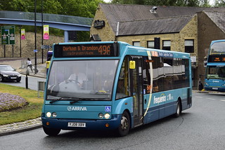 Arriva North East Belmont Based 2839 YJ08XBV Optare Solo ' 49/49A Frequenta '