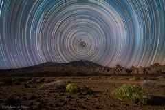 El Teide. (Roberto_48) Tags: teide star trail startrail tenerife islas canarias larga exposicion noche nocturna ngc