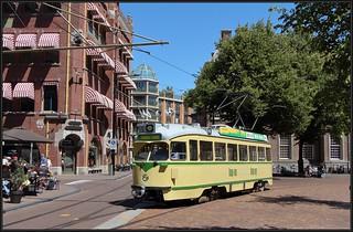 8/9 HTM 1180 Tourist Tram - Kerkplein, 08-07-2018