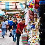 Man at a toy shop in Bangkok's Chinatown thumbnail
