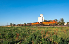 RR-20180710-BrushSub-151-e (skyviewtim) Tags: bnsf6401 coalload coloradorailroads coloradotrains hillrose colorado unitedstates us