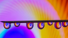 Needle - 5606 (ΨᗩSᗰIᘉᗴ HᗴᘉS +23 000 000 thx) Tags: needle macro water drop droplet spiral spirale color vivid hensyasmine namur belgium europa aaa namuroise look photo friends be wow yasminehens interest intersting eu fr greatphotographers lanamuroise tellmeastory flickering 7dwf