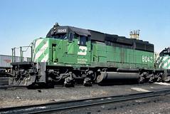 BN SD40-2 8043 (Chuck Zeiler) Tags: bn sd402 8043 railroad emd locomotive clyde train chuckzeiler chz