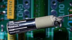 Eraser... (the.flea) Tags: macromondays erasers flea gomme macro condensateur