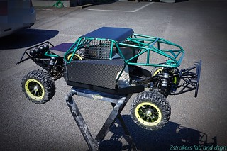 Steel cage for Losi 5iVe-t /Hybrid / RCmax engines.