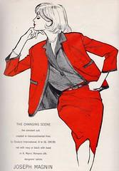 Joseph Magnin 1959 (barbiescanner) Tags: vintage retro fashion vintagefashion 50s 50sfashions 50sadvertising 1950sfashions 1950sadvertising 1959 vogue bettybrader jospehmagnin fashionillustrations