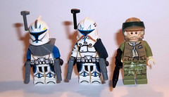 Rex, Rex and Rex (OB1 KnoB) Tags: lego star wars minifigure custom rex captain capitaine ct7567 commander nik sant episode 6 clones clone theclonewars rebels clonewarssaved season 7
