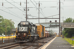 NS EMD GP38-2 #5310 @ Levittown, PA (Darryl Rule's Photography) Tags: 2018 acs64 amtk acela acelaexpress amtrak bs03 buckscounty catenary citiessprinter clouds cloudy conrail conrailsharedassets emd eastbound electric freight freightcar freighttrain freighttrains gp382 july levittown local mixedfreight necorridor neregional ns norfolksouthern northeastcorridor northeastregional pa pc prr penncentral pennsy pennsylvania pennsylvaniarailroad pushpull railroad railroads rain rainy septa siemens signal signals station summer train trains tullytown wesrtbound