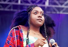 Noname (kirstiecat) Tags: fatimahnyeemawarner noname hiphop rap music live concert singer gorgeous beautiful festival pitchforkmusicfestival