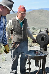 """Baker County Tourism – basecampbaker.com 42429 (Base Camp Baker) Tags: oregon easternoregon""""""""bakercountytourism""""basecampbaker""""basecampbaker""""""""bakercity""""""""oregontrail""""historyhistoric""""pioneers""""culinarytourismfoodtourism culturaltourism """"americanwest"""" """"hellscanyonscenicbyway"""" museum """"livinghistory"""" """"interpretivecenter"""" """"wagonencampment"""" oregontrail ontheoregontrail travelusa traveloregon blacksmith blacksmithing handforged ironwork heritagecrafts dutchoven dutchovencooking pioneercooking campfirecooking blm blmoregon"""