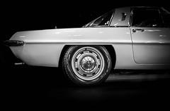 MAZDA (Dave GRR) Tags: mazda retro classic vintage toronto auto show 2018 monochrome mono chrome bw white black background olympus