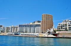 2016-06-08j rejs Sliema (7) (aknad0) Tags: malta sliema krajobraz morze architektura statki