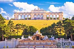 Gloriette viewpoint @ Schonbrunn castle, Vienna, Austria (brch1) Tags: vienna wien bec austria austrija