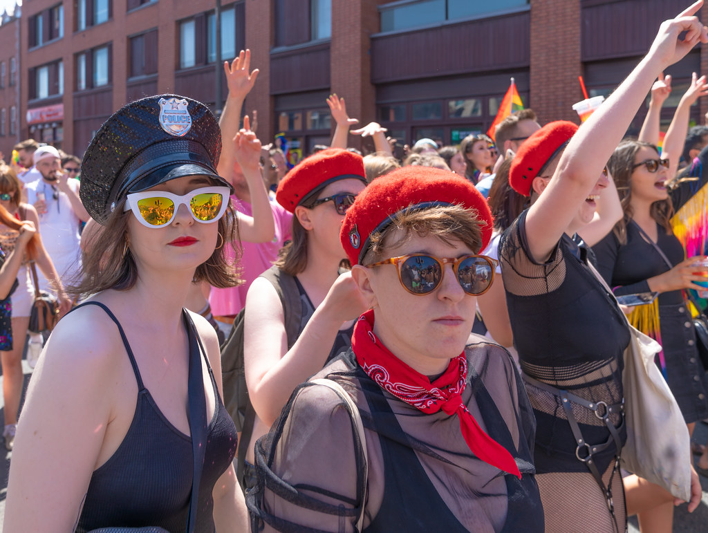 ABOUT SIXTY THOUSAND TOOK PART IN THE DUBLIN LGBTI+ PARADE TODAY[ SATURDAY 30 JUNE 2018] X-100238