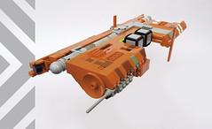 W-Tron Type III transport (Shannon Ocean) Tags: microscale homeworld