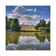 Compton Verney House. (Explored 07/07/18) (tetleyboy) Tags: landscape historical garden lake architecture warwickshire framed mobile snapseed capabilitybrown 500px explored