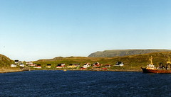 Havoysund (J_Piks) Tags: norway hurtigruten 1999 sea
