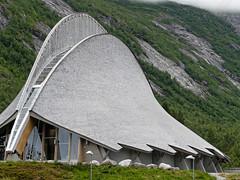 Jostedal Glacier Centre, Norway (darrenboyj) Tags: jostedal glacier glaciercentre norway roof viking