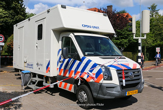 Dutch police Volkswagen Crafter forensic research