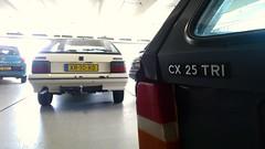 Citroën BX 19 TRI / CX 25 TRI Break Automatic (Skylark92) Tags: nederland netherlands holland northholland noordholland amsterdam new nieuw west slotervaart citroën cx 25 tri break automatic u9 24ldjp 1989 bx 19 xr10rd