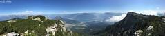 Panorama sulla Valsugana (Luca Bobbiesi) Tags: landscape panorama panoramic mountains mountainscape alpi dolomiti altopiano trentinoaltoadige cima vigolana valsugana lagodicaldonazzo lake panoramica trekking iphone6s