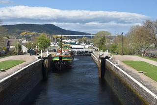Muirtown Locks on Caledonian Canal