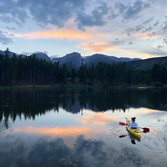 Untitled (Tanner Wendell Stewart) Tags: ifttt 500px lakeside lake mountain lakeshore view tranquil canoe sunrise peaceful calm mirror valley ten peaks rockies colorado