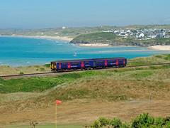 150219 Porthkidney Sands (4) (Marky7890) Tags: gwr 150219 class150 sprinter 2a31 porthkidneysands railway cornwall stivesbayline train