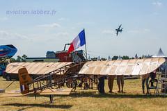maquette de l'avion de Blériot, Valenciennes Prouvy (louis.labbez) Tags: juillet 2018 aérien meeting prouvy europe france labbez aéronef airplane air blériot maquette a400m valenciennes denain nord