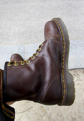 DrMartens1460Brown1 (Perlimplim) Tags: 1460 brown drmartens