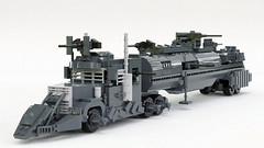 The Dreadnought (C.Ngoc) Tags: dreadnought truck death race trailer movie lego render mecabricks