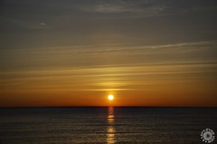 Sunrise at Illinois Beach State Park (Steven Sabourin) Tags: ibsp sunrise lakemichigan water sky