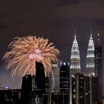 Fireworks over Kuala Lumpur thumbnail