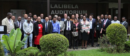 Participants at the policy dialogue on scaling IBLI in Ethiopia