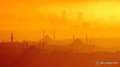 The evening prayer in Istanbul  / 2607180422 (devadipmen) Tags: bosphorus istanbul landscapephotographer mosque sunset türkiye