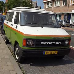 1981 Bedford Blitz (Bedford CF) (Skitmeister) Tags: 01blkx carspot nederland skitmeister car auto pkw voiture