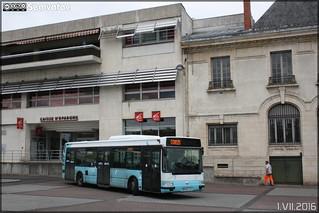 Renault Agora S - STUV (Société des Transports Urbains de Vierzon) (RATP Dev) / Le Vib' n°132