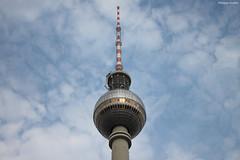 """Berlin : la tour de la Télévision (""""Fernsehturm"""") (philippeguillot21) Tags: télévision fernsehsturm berlin allemagne deutchland europe mitte pixelistes canon"""