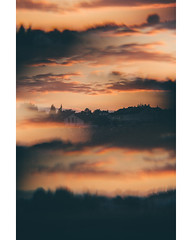 Triple Sunsets (freyavev) Tags: cokin cokinfilter filter multiimages malmsheim renningen germany deutschland badenwürttemberg sunset vertical vsco mikasniftyfifty canon canon700d telelens sky clouds