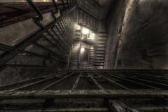 steps (Blacklight Fotografie) Tags: staircase stairwell treppenhaus treppe treppen abandoned decay forgotten lostplace lost verlassen verfallen urbex hdr geländer