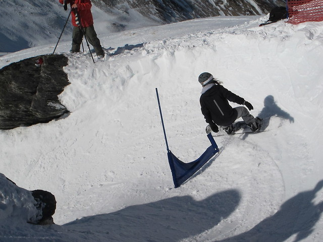 7 July NZ Snowboarder Banked Slalom 2012