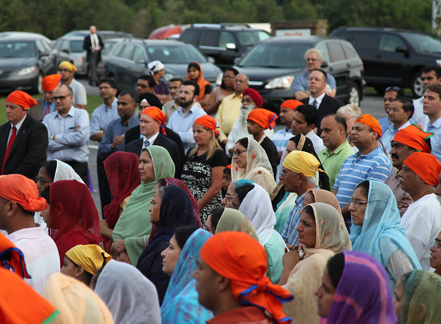 Candlelight Vigil at the Sikh Center of Delaware - August 2012