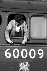 GWS 67185bw (kgvuk) Tags: gws didcot didcotrailwaycentre uniofofsouthafrica 60009 a4 pacific 462 steam locomotive engine train railway lner br britishrailways johncameron