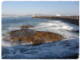 Temporal desde el Puerto de Corrubedo-Riveira (A Coruña)23