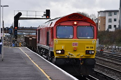 66230 (Dan Townsend 14) Tags: 66 class66 eastleigh 6o41 66230 coalfish
