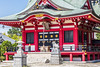 Shinto Shrine (ColinParte) Tags: shinto shrine temple japan religion shimmatsudo matsudo koya akagi torii